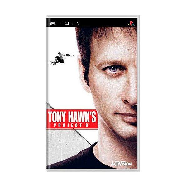 Usado: Jogo Tony Hawk's Project 8 (Sem Capa) - PSP