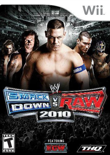 Jogo WWE Smackdown VS Raw 2010 - Wii - Seminovo