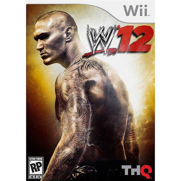 Jogo WWE12 - Wii - Seminovo