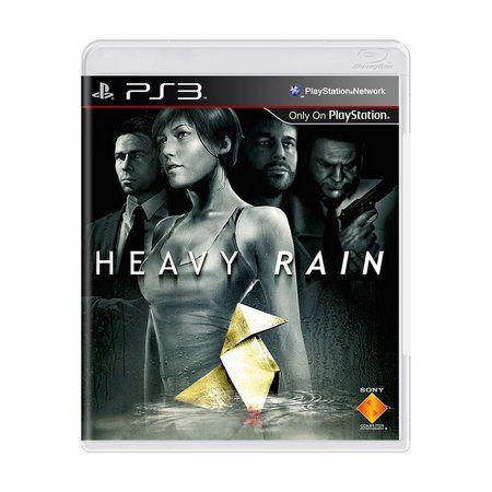 Jogo Heavy Rain - PS3 - Seminovo
