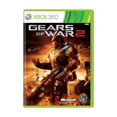 Jogo Gears of Wars 2 - Xbox 360 - Seminovo