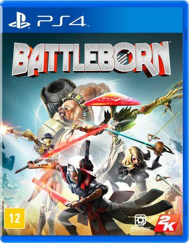 Usado: Jogo Battleborn - PS4