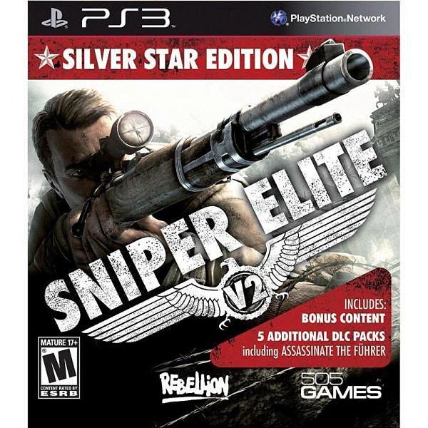 Jogo Sniper Elite V2 - Silver Star Edition - PS3 - Seminovo
