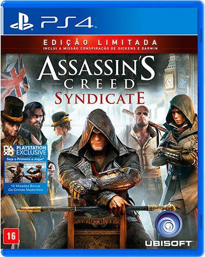 Jogo Assassin's Creed Syndicate PS4 - Seminovo