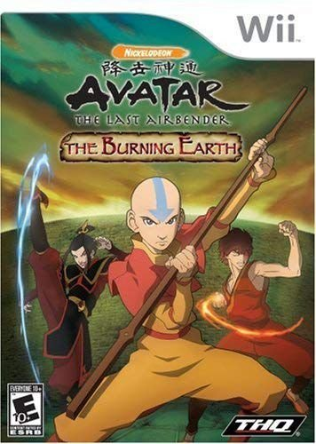 Jogo Avatar: The Last Airbender The Burning Earth - Wii - Seminovo