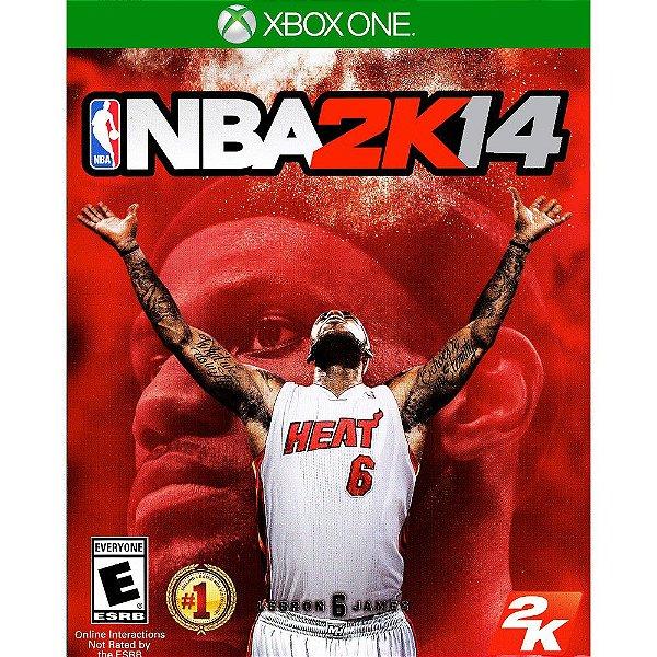 Jogo NBA 2K14 Xbox One - Seminovo