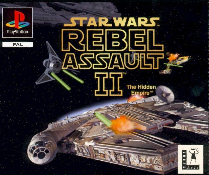 Jogo Star Wars Rebel Assault 2 Duplo [Japonês] - PS1 - Seminovo