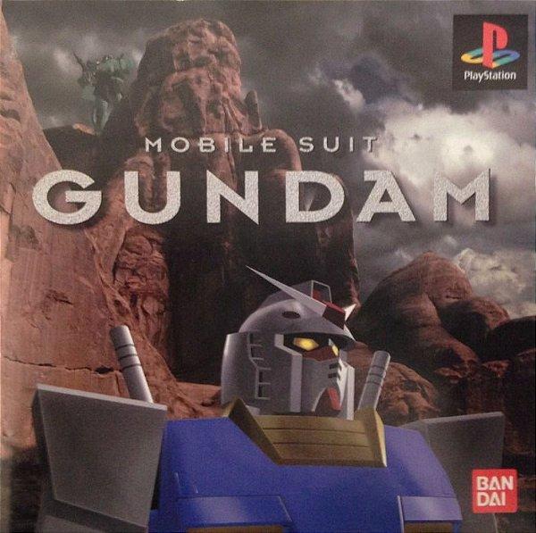 Jogo Mobile Suit Gundam [Japonês] - Ps1 - Seminovo