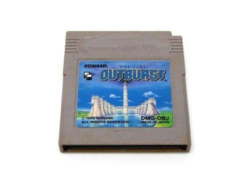 Usado: Jogo Outburst [Japonês] - Game Boy