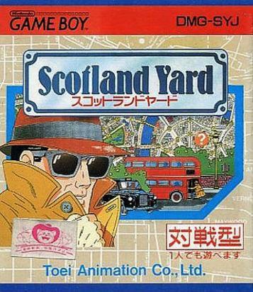 Jogo Scotland Yard [Japonês] - Game Boy - Seminovo