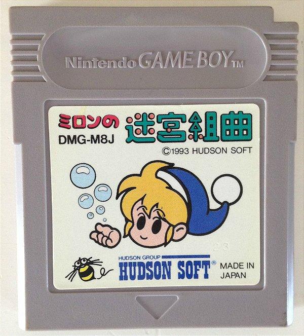 Jogo Milon's Secret Castle [Japonês] - Game Boy - Seminovo