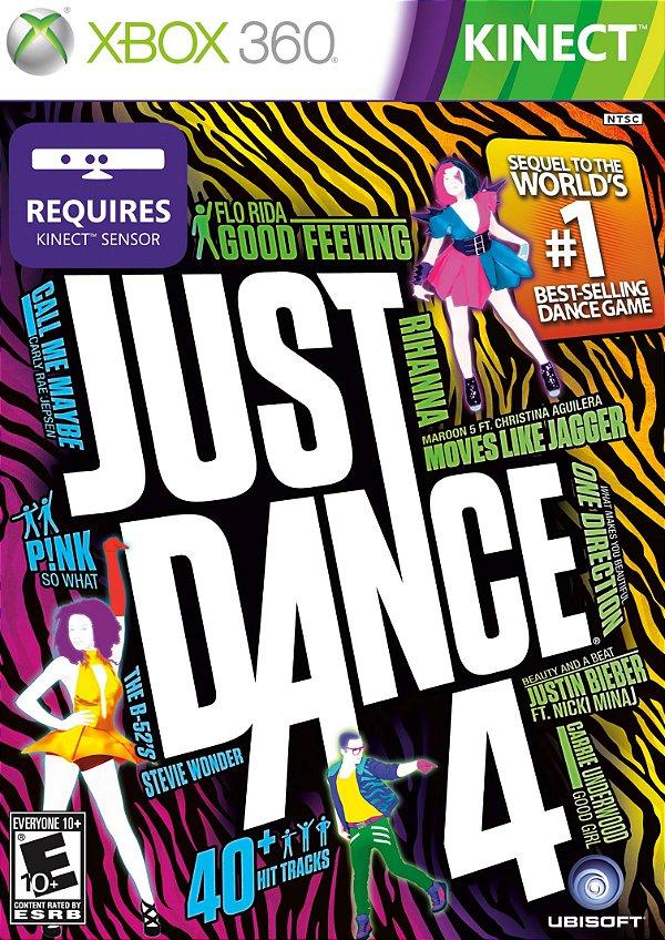 Usado: Jogo Just Dance 4 Xbox 360