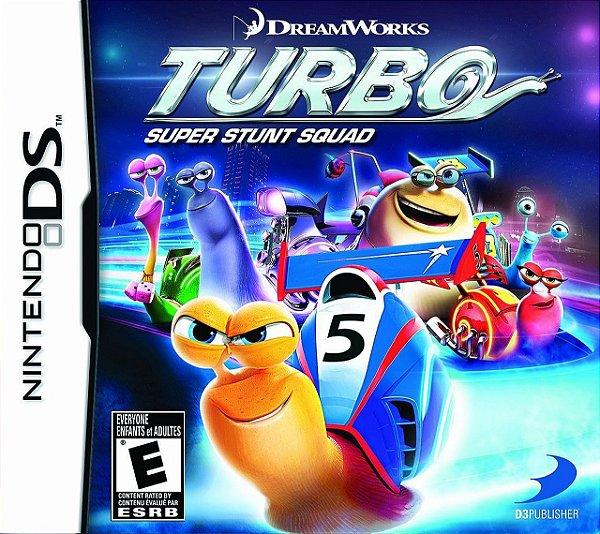 Jogo Turbo Super Stunt Squad - Nintendo DS - Seminovo