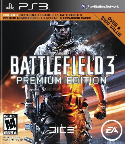 Jogo PS3 BattleField 3 - Premium Edition - Electronic Arts [video game]