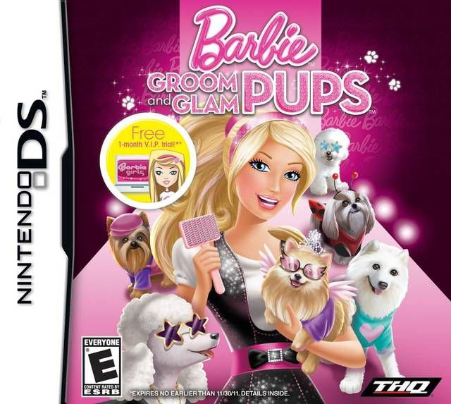 Jogo Barbie Groom and Glam Pups - Nintendo DS - Seminovo