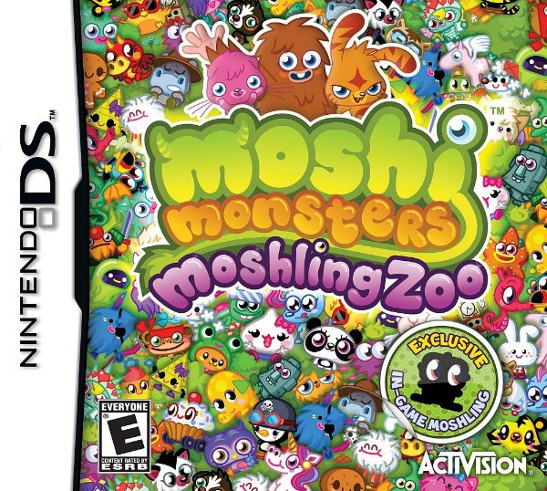 Jogo Moshi Monsters Moshling Zoo - Nintendo DS - Seminovo