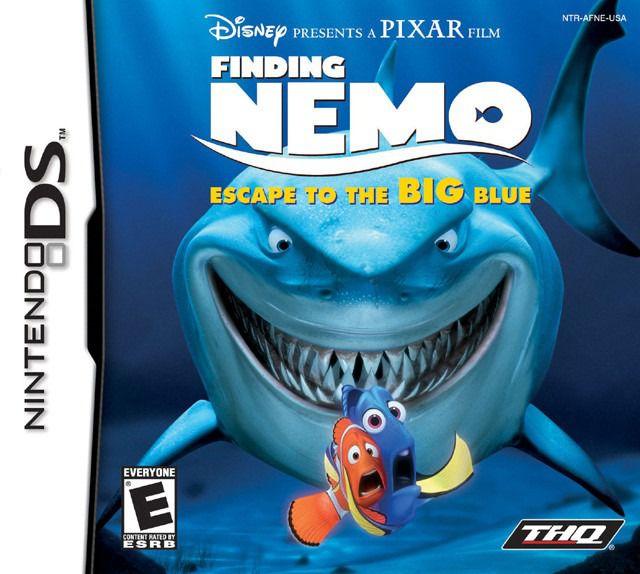 Jogo Finding Nemo Escape To The Big Blue - Nintendo DS - Seminovo