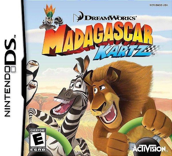 Jogo Madagascar Kartz - Nintendo DS - Seminovo
