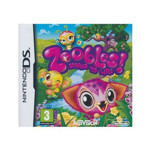 Jogo Zoobles Spring To Life! - Nintendo DS - Seminovo