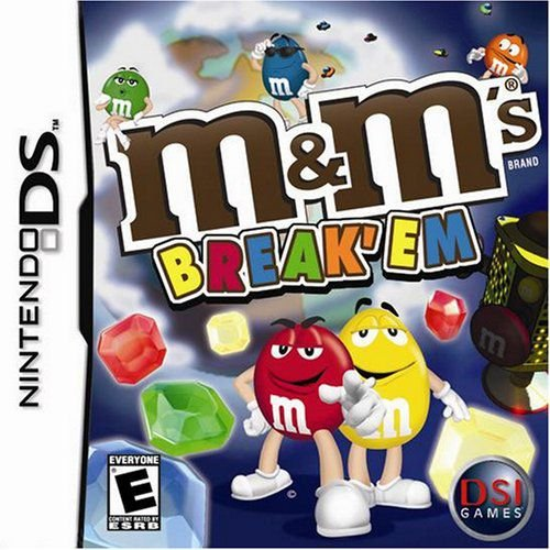Jogo M&M Break'em - Nintendo DS - Seminovo