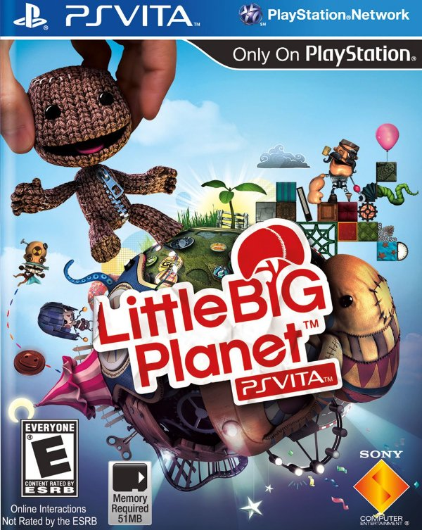 Jogo Little Big Planet - PS Vita - Seminovo