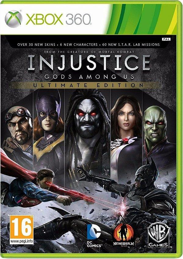 Jogo Injustice Gods Among Us Ultimate Edition - Xbox 360 - Seminovo