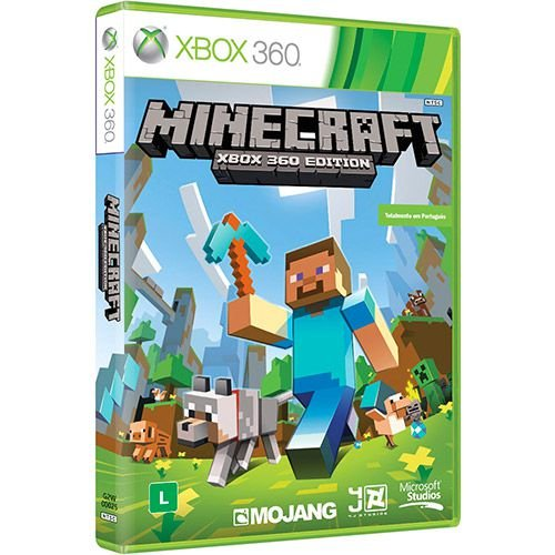Usado: Jogo Minecraft - Xbox 360 Edition - Xbox 360