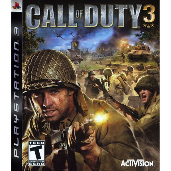 Jogo Call of Duty 3 - PS3 - Seminovo