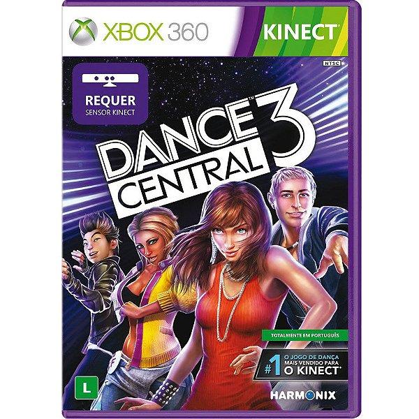 Usado: Usado: Jogo Dance Central 3 Xbox 360 -