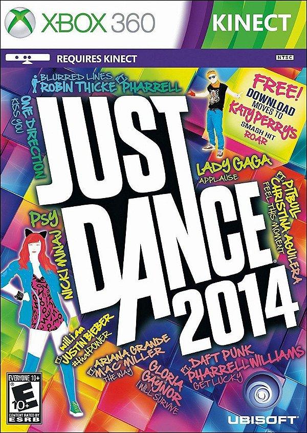 Usado: Jogo Just Dance 2014 -Xbox 360