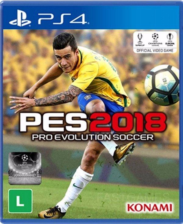 Jogo Pro Evolution Soccer 2018 - Edição Premium - PS4 - Seminovo