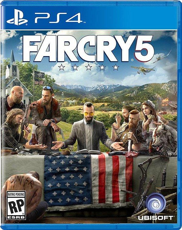 Usado: Jogo Far Cry 5 - PS4