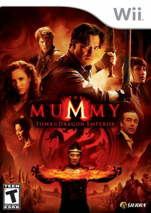Jogo The Mummy Tomb Of The Dragon Emperor [sem capa] - Nintendo Wii - Seminovo