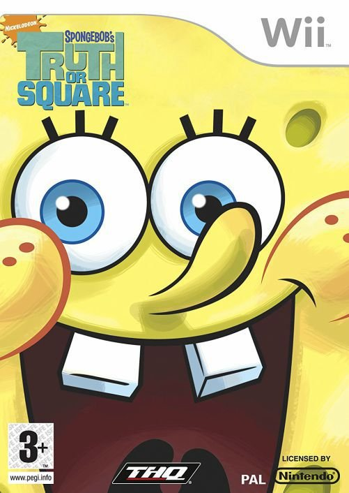 Jogo Spongebob's Truth or Square [sem capa] - Nintendo Wii - Seminovo