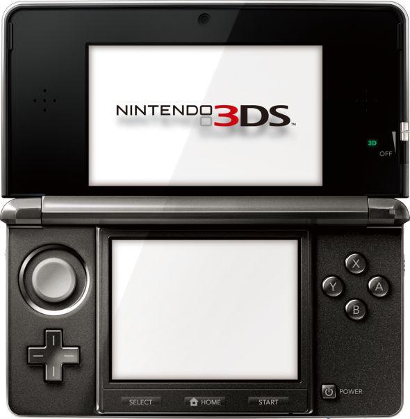 Console Nintendo 3DS Preto - Nintendo - Seminovo