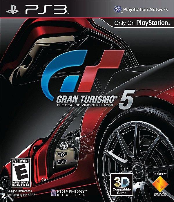 Jogo Gran Turismo 5 - PS3 - Seminovo