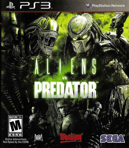Jogo Aliens Vs Predador - PS3 - Seminovo