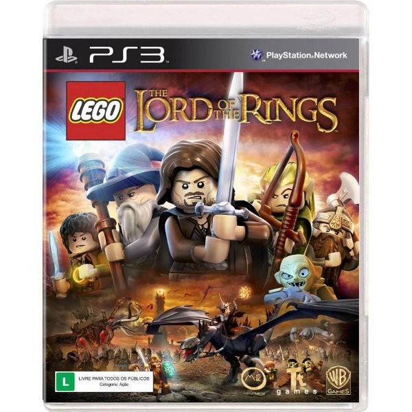 Jogo Lego O Senhor dos Anéis - PS3 - Seminovo
