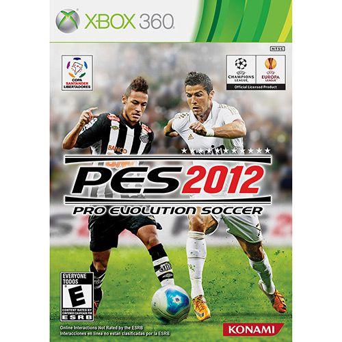 Jogo PES 2012 - Xbox 360