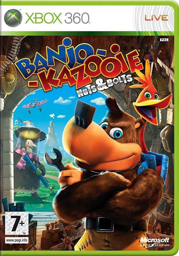 Jogo Banjo-Kazooie Nuts & Bolts - Xbox 360 - Seminovo