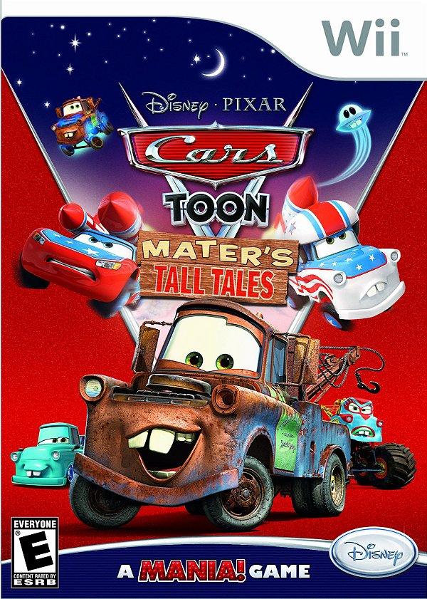 Jogo Cars Toon Mater's Tall Tales - Nintendo Wii - Seminovo