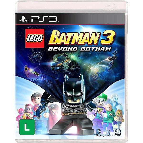 Jogo Lego Batman 3 Beyond Gotham - PS3 - Seminovo