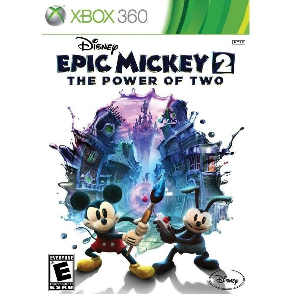 Jogo Epic Mickey 2 The Power of Two - Xbox 360 - Seminovo