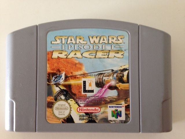 Jogo Star Wars Episode 1 Racer [europeu] Nintendo 64 - Seminovo