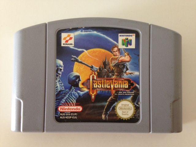 Jogo Castlevania [europeu] Nintendo 64 - Seminovo