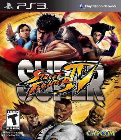Jogo Super Street Fighter IV - PS3 - Seminovo