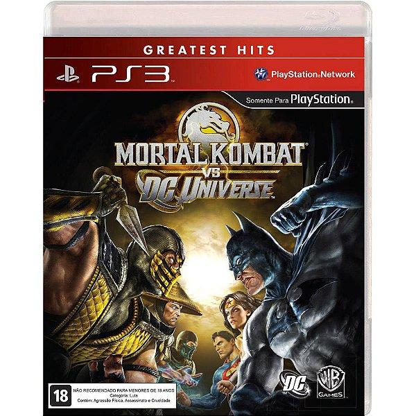 Jogo Mortal Kombat Vs DC Universe - PS3 - Seminovo