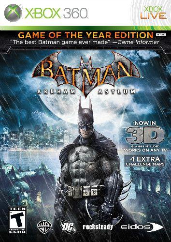Usado: Usado: Jogo Batman Arkham Asylum Xbox 360