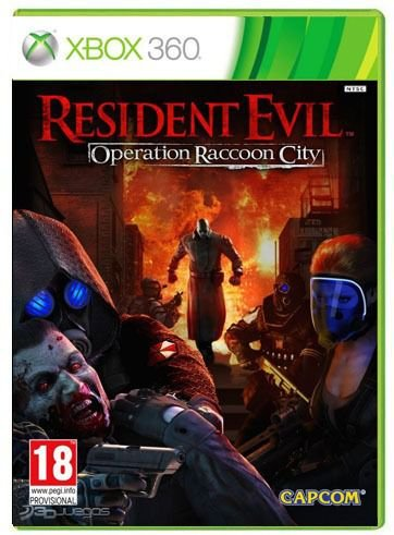 Usado: Usado: Jogo Resident Evil Operation Raccoon City - Xbox 360 -