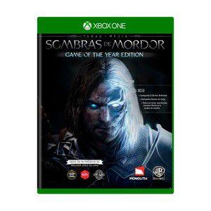 Usado: Jogo Terra Média Sombras de Mordor - Game of The Year Edition - Xbox One